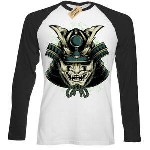Shogun-Mask-T-Shirt-japanese-samurai-Baseball-t-shirt