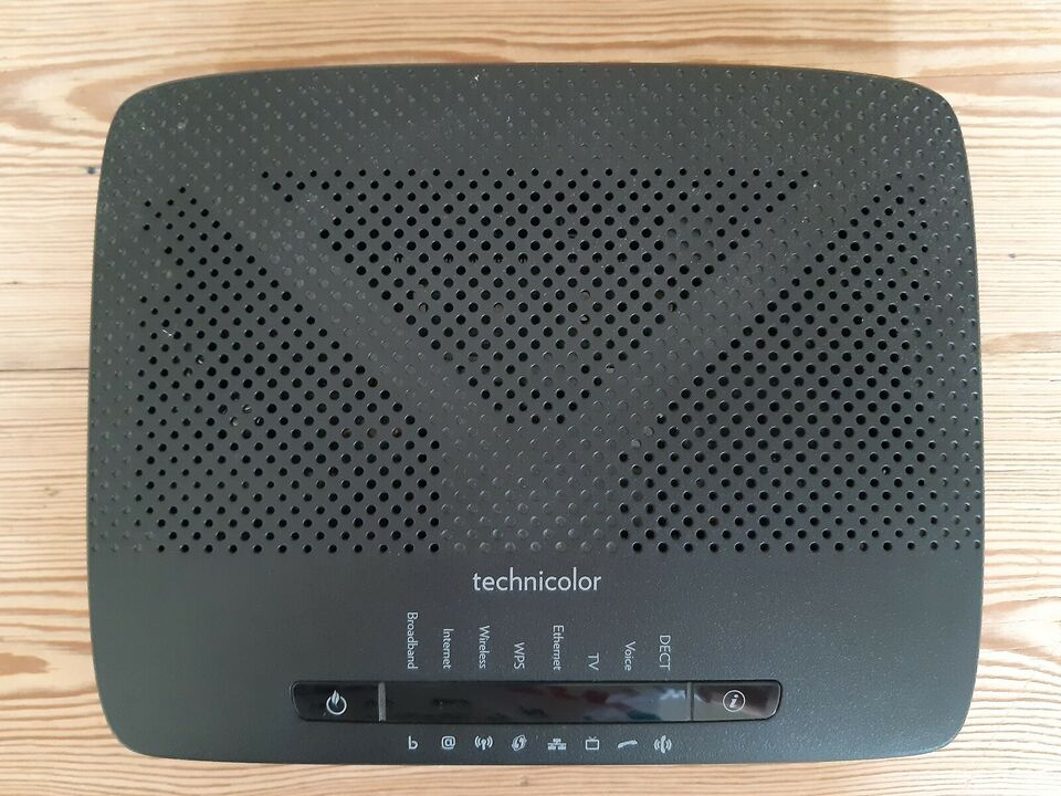 Router, Technicolor, Perfekt