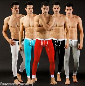 Mens-Long-Johns-Thermal-Underwear-Inner-Wear-Heat-Trap-Warm-Cotton-Pants-Legging