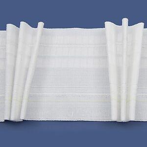 Image Is Loading Rufflette DEEP Tridis Pinch Pleat Curtain Tape Fabric
