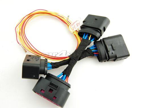 Audi A1 8X Halogen auf Xenon Scheinwerfer Adapter Kabelbaum Kabel cable