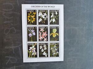1997-St-VINCENT-GRENADINES-ORCHIDS-OF-THE-WORLD-9-STAMP-SHEETLET-MINT