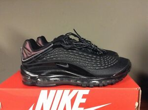 separation shoes 45f52 f5cb8 Image is loading Nike-Men-039-s-AIR-MAX-DELUXE-Black-