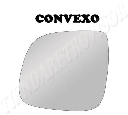 CRISTAL RETROVISOR AUDI Q7 2006-2009 4L CONVEXO