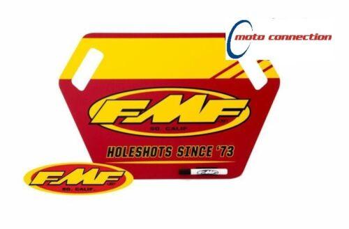 FMF FACTORY RACING MOTOCROSS PIT BOARD WITH PEN  KTM SX50 SX65 SX85 SX125 SX150