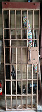 Vintage Police Department Jail Cell doors with Original Key c. 1950