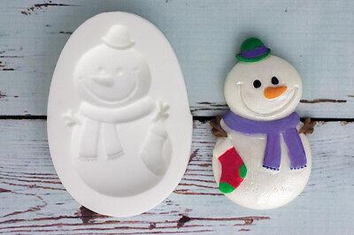 Frozen Silicone Mould Christmas Snowflakes Ellam Sugarcraft M162 Food Safe