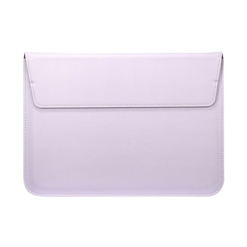 """For MacBook Air//Pro//Retina 11/""""12/""""13/""""15/"""" Slim Leather Pouch Sleeve Bag Case Cover"""