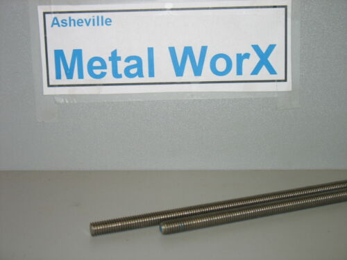 "high tensile steel Threaded 5//16/"" 5//16/"" Rod  B7 24  both ends 5 1//4/"" long"