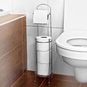 Remarkable Details Over 4 Roll Free Standing Toilet Paper Tissue Chrome Dispenser Storage Holder Stand Creativecarmelina Interior Chair Design Creativecarmelinacom