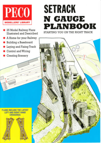 Peco IN-1 N Gauge Setrack Track Plans Catalogue Latest Edition 2nd Class PostOLY