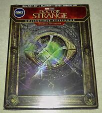New Marvel Doctor Strange 3D+2D Blu-ray DVD Steelbook™ Bestbuy Exclusive USA