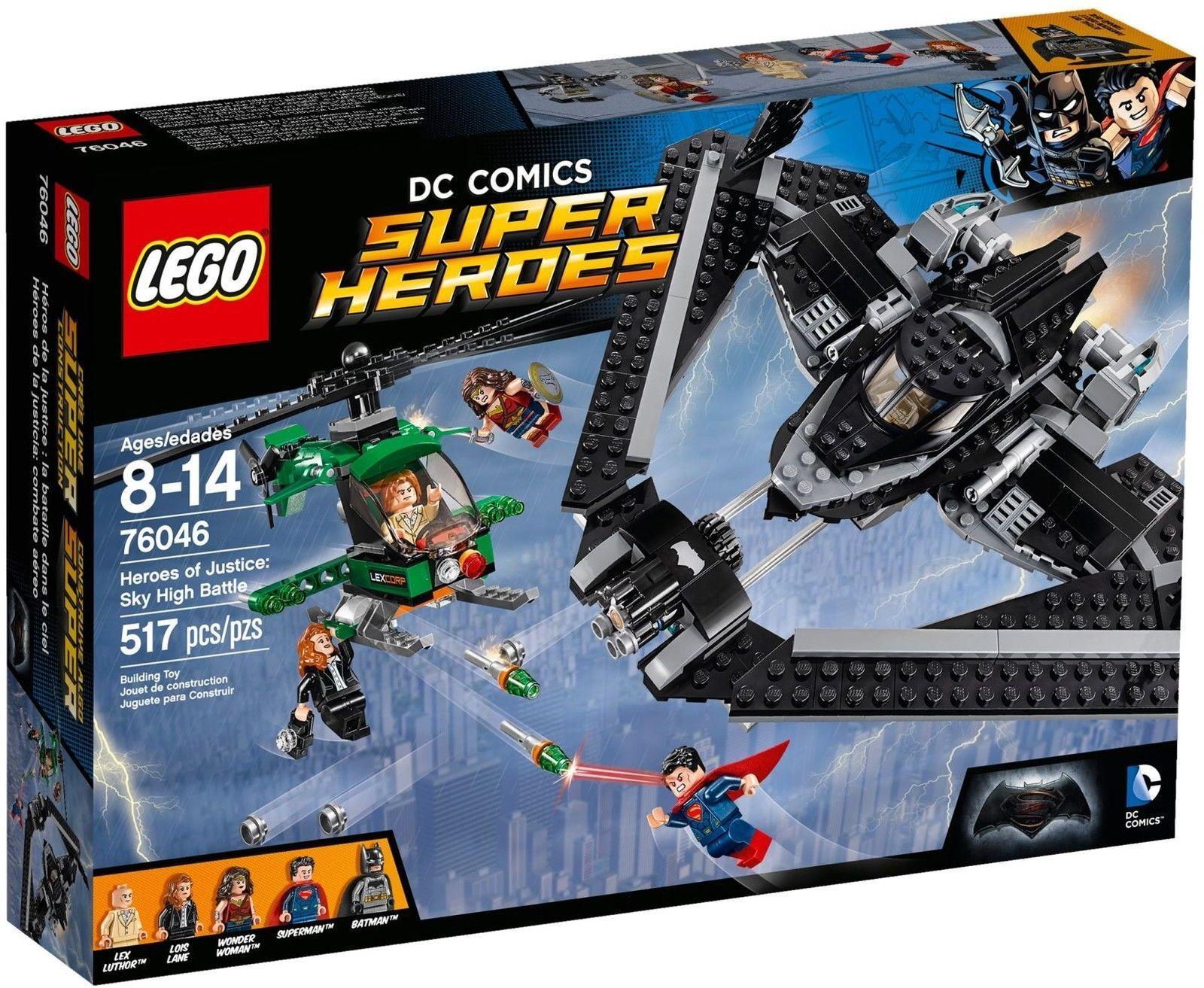 76046 LEGO MARVEL SUPER HEROES HÉROS DELLA GIUSTIZIA BATTAGLIA DANS CIEUX