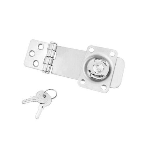 Padlock Hasp Lock Door Clasp Latch for Boats Cabinets Boxes Doors Trunks