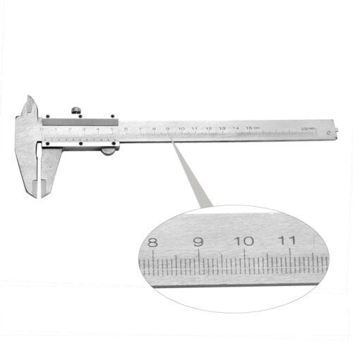 Portable Digital Metal Millimeter Vernier SlideCaliper RulerGuage Measuring Tool