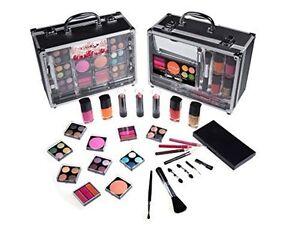 trunk makeupkit with reusable aluminum case tem b230