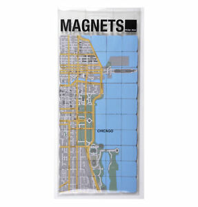 Chicago-City-Map-Fridge-Magnet-Puzzle-Learn-the-city-map-Knowledge-with-fridge