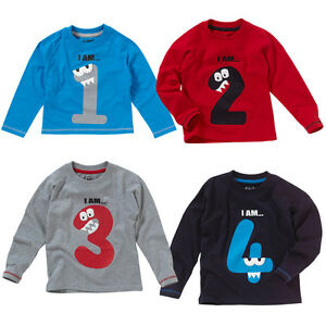 Image Is Loading Toddler Boys 1st 2nd 3rd 4th Birthday T
