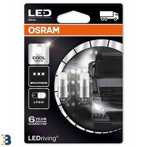 nuevo-Osram-T4W-LEDriving-Cool-Blanco-249-24V-1W-BA9s-3924CW-02B-6000K-Bombillas-Set