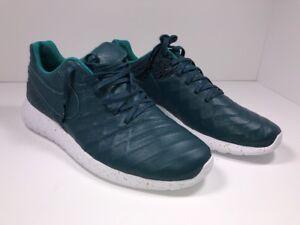 57afc7fc2a04e Nike Roshe Tiempo VI FC QS 861459-300 Midnight Turq Size 13