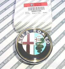 ALFA ROMEO 159 NUOVO originale Badge POSTERIORE BOOT 50531454 (tipo push per aprire Boot)