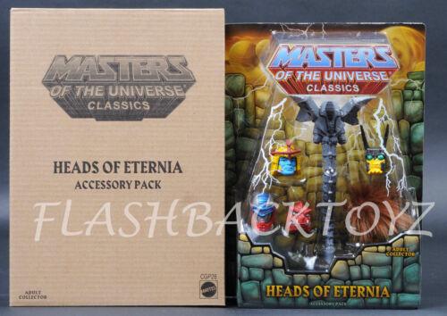 2015 MOTU Heads of Eternia Pack MOTUC Masters of the Universe Classics MOC