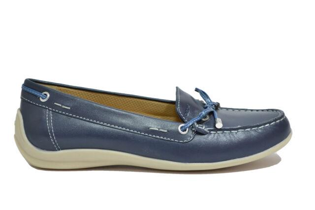 GEOX YUKI mocassini avio scarpe donna mod. D6455A