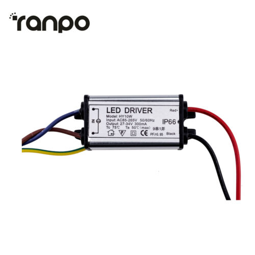 10W 30W 50W 70W 100W LED COB Chip Beads Bulb High Power Driver Supply Adapter RC
