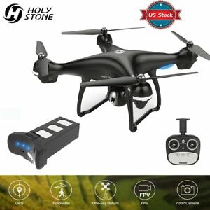 Holy Stone HS100 Quadcopter RC Drone GPS 2.4G Remote HD 720P Camera + 8GB Card