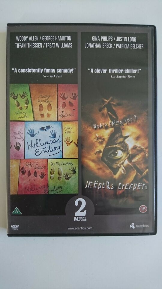 Hollywood Ending + Jeepers Creepers (2 film), instruktør