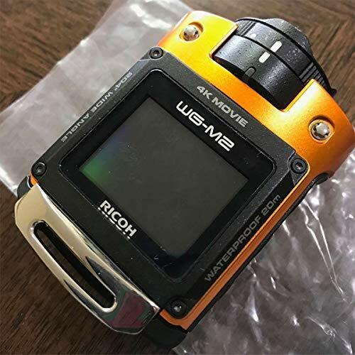 RICOH Waterproof Action Camera WG-M2 Orange F/S [from Japan]