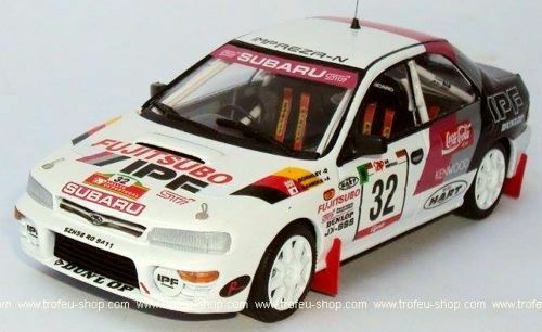 Subaru Impreza - 12th R.Portugal 95  Masao Kamioka Kevin Gormley- Troféu RRal41