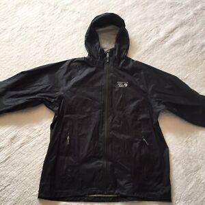 NWT-MOUNTAIN-HARDWARE-Men-s-Waterproof-Capacitor-Jacket-Black-XL-MSRP-230-00