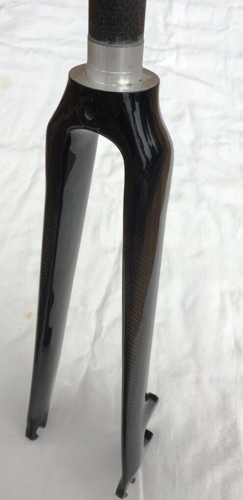 Carbon Rennrad  Starrgabel 11 8   700C 700C 700C für scheibenbremse 510g 39dd74