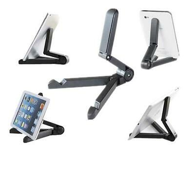Foldable Adjustable Stand Bracket Holder Mount for Apple iPad Tablet PC Black BC