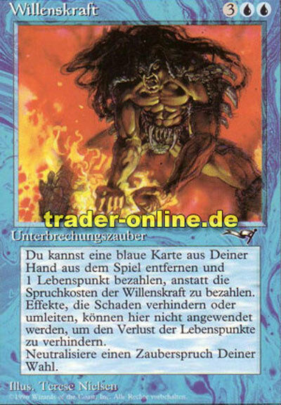 WillPower (Force of Will Alliances) NM Magic