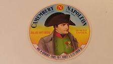 Ancienne étiquette de fromage Camembert Napoléon  fr101