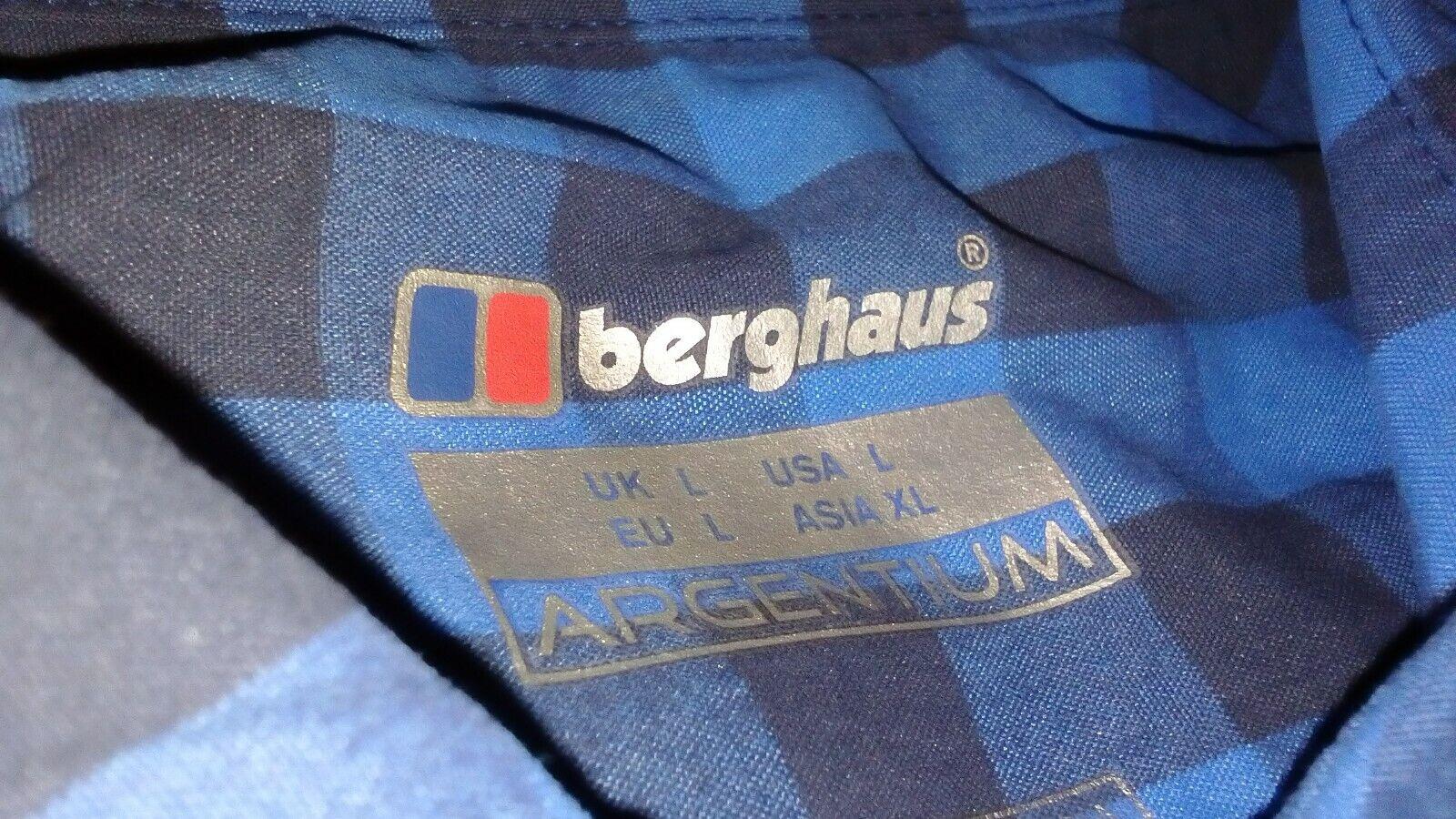 Berghaus argentoium argentoium argentoium Explorer 2 Uomini Taglia Large, Manica lunga, elemento Nuovo di Zecca Tag. 9d9850