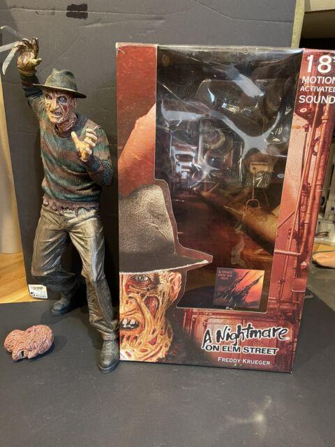 "Neca 18"" A Nightmare On Elm St Freddy Kruger Figure W/ Box! Original! READ"