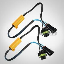 CARCHET 2 RESISTENZE LAMPADINE H8 H11 50W LED CANBUS 9-14V RICAMBIO