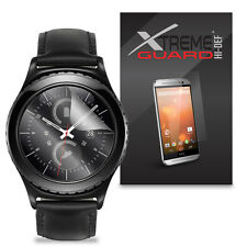 6-Pack XtremeGuard HIDEF Screen Protector For Samsung Gear S2 Classic Smartwatch