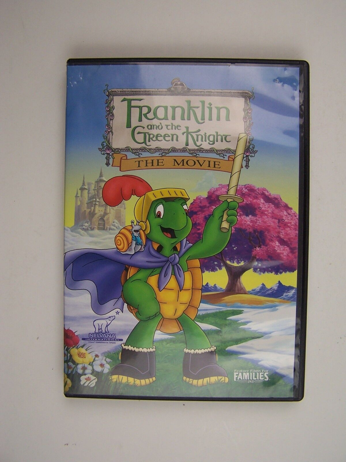 Franklin - Franklin and the Green Knight The Movie DVD