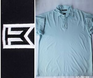 Men-039-s-NIKE-Dri-Fit-TIGER-WOODS-Collection-Blue-Golf-Polo-Shirt-Rare-XL-Canaccord
