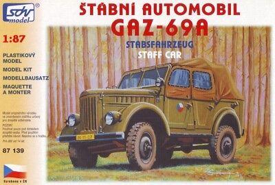 GAZ 69 – 4x4 Staff Car TOPP MODELL mac87029// MAC Distribution 1:87