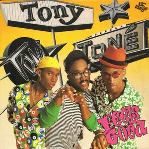 Tony-Toni-Tone-Feels-Good-1990-PolyGram-Records-America-Vinyl-LP-12-034-Single-Exce
