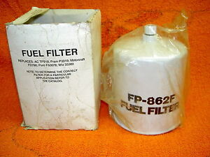 LUBERFINER FP862F FUEL FILTER Fits CASE Interchanges with Wix 33380