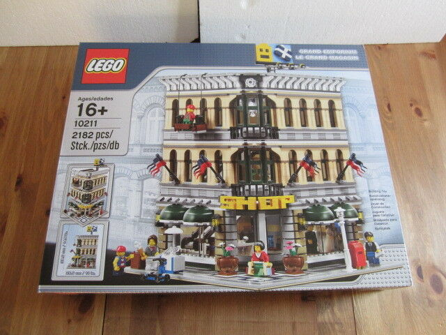 NO PAYPAL NO CB   Lego Creator 10211  Le grand magasin   NEUF SEALED