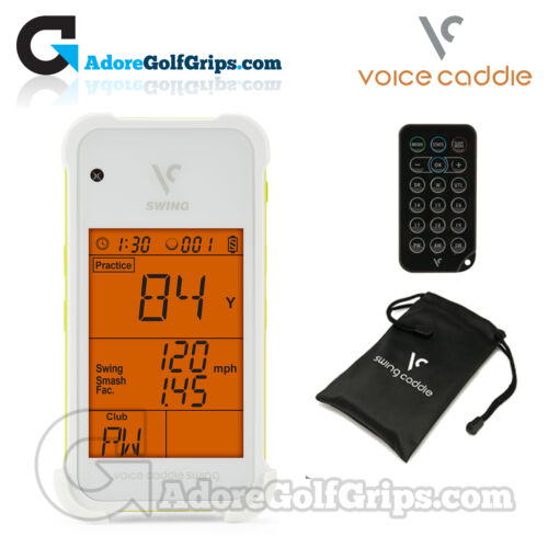 NEW Voice Caddie Swing Caddie Portable Launch Monitor SC100 White