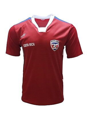 Colorado Arza Soccer Jersey Red and Black 100/% Polyester Made in Mexico
