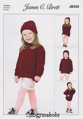 James Brett Children/'s Knitting Pattern JB037